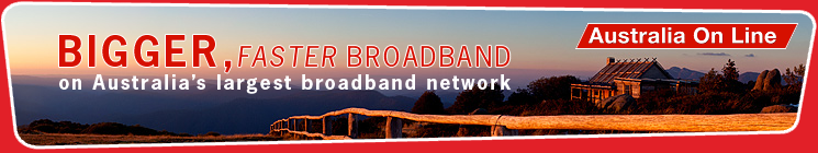 New bigger, faster ADSL broadband plans are now available.